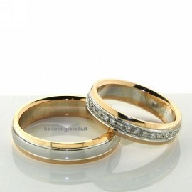 WEDDING RING IN GOLD 18k, 5mm IN HEIGHT, INCLUDED IN THE PRICE.<BR>Weights and carat are indicative and they are subject to change depending on the ring size. Contact us for a personalized quote.