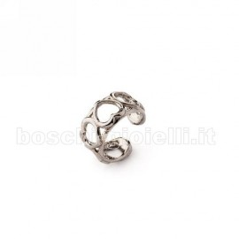 POLSINO DA ORECCHIO ARGENTO 925 NO PIERCING MADE IN ITALY