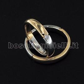 <B>FEDE DI NOSTRA CREAZIONE</B> COMODA CON BORDI ARROTONDATI IN ORO 18 karati ALTEZZA 3,9mm, FEDE UOMO G: 6,5 FEDE DONNA G: 5,7 REALIZZABILE IN ARGENTO, ORO, PLATINO. <BR>I pesi e le carature sono solamente indicativi e possono subire variazioni a seconda della misura dell'anello. Contattaci per un preventivo personalizzato<BR>Da <b>Reggio Emilia</b> la tua gioielleria a portata di click