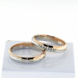 COMFORT WEDDING RING IN GOLD 18k, 4mm IN HEIGHT, WEDDING MAN G: 5,2 WEDDING WOMAN G: 4,3 INCLUDED IN THE PRICE.<BR>Weights and carat are indicative and they are subject to change depending on the ring size. Contact us for a personalized quote.
