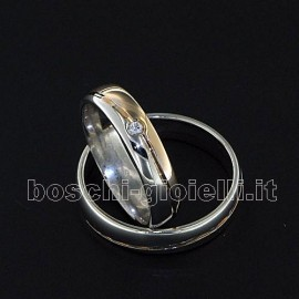 WEDDING RING IN GOLD 18k, 5mm IN HEIGHT, WEDDING MAN G: 6,3 WEDDING WOMAN G: 5,3.<BR>Weights and carat are indicative and they are subject to change depending on the ring size. Contact us for a personalized quote.
