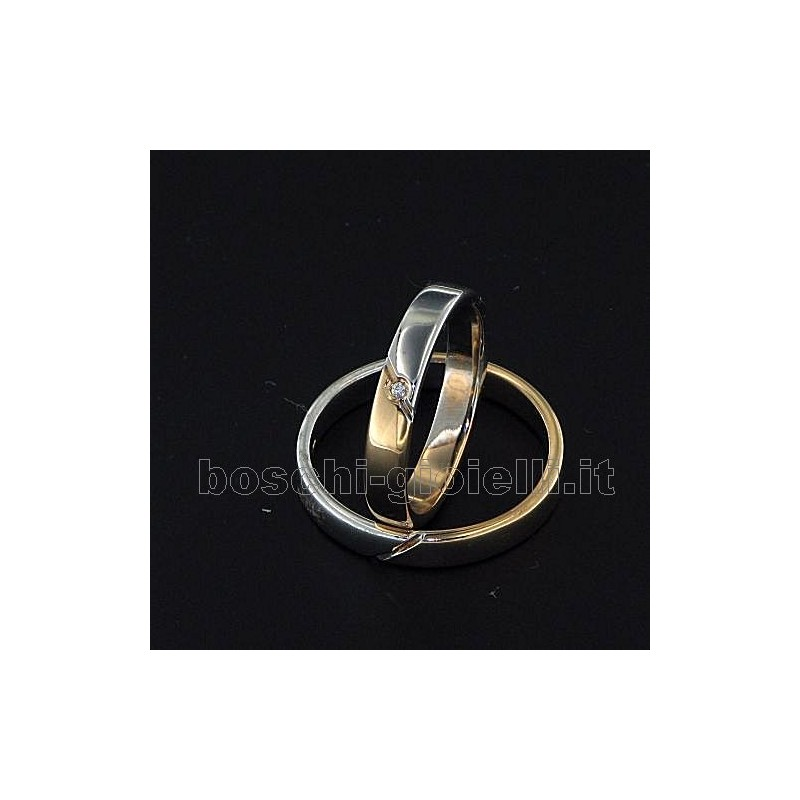 home Fedi nuziali LuiLei FL132 Fedi nuziali argento oro platino