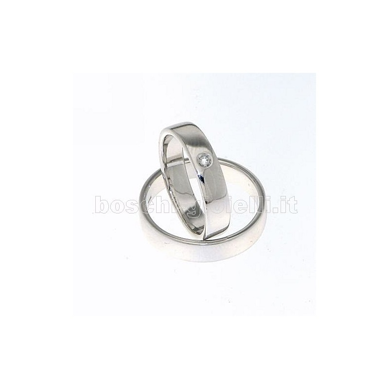 home Fedi nuziali LuiLei FL141 Fedi nuziali argento oro platino