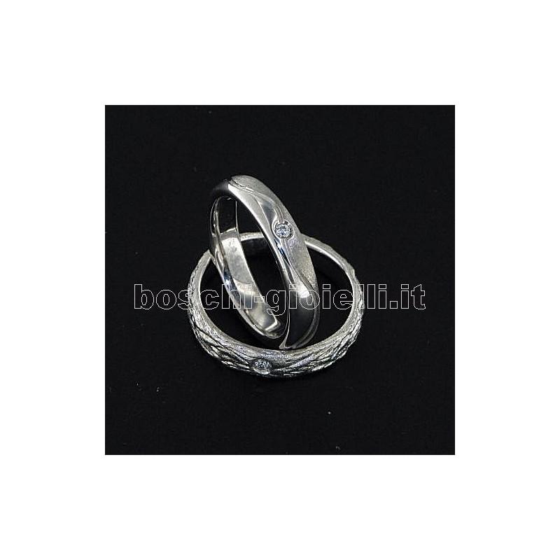 home Fedi nuziali LuiLei FL166 Fedi nuziali argento oro platino