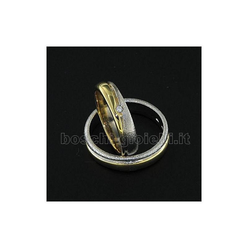 home Fedi nuziali LuiLei FL171 Fedi nuziali argento oro platino
