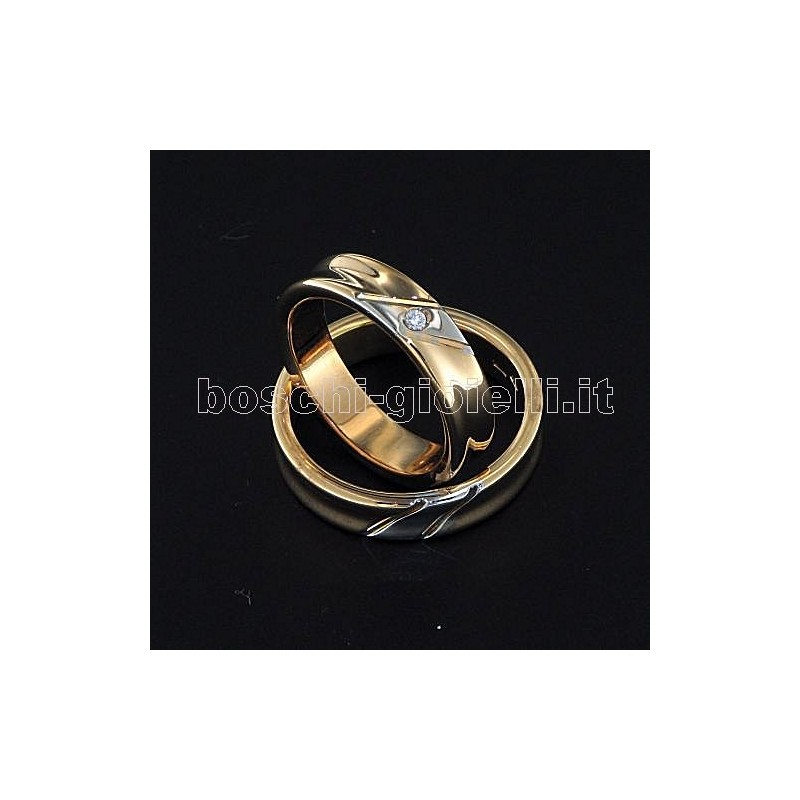 home Fedi nuziali LuiLei FL176 Fedi nuziali argento oro platino