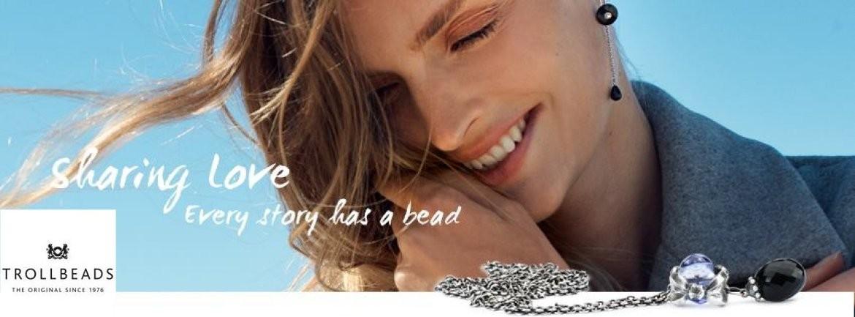 Trollbeads negozio punto vendita rivenditore ufficiale bracciali e collane Reggio Emilia