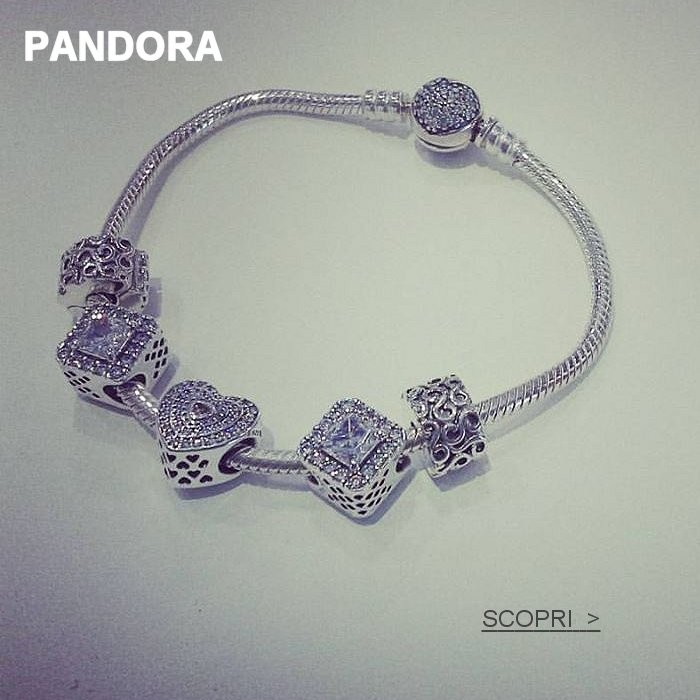 Pandora bracciali charm negozio Reggio Emilia